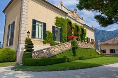 Free Villa Del Balbianello On Lake Como, Lenno, Lombardia, Italy Royalty Free Stock Image - 114578316