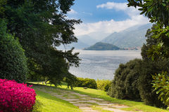 Villa Del Balbianello Seen From The Gardens Of Villa Melzi D Eril