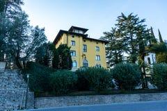 Villa del cantante greco Maria Callas, Sirmione, lago garda, Italia fotografia stock