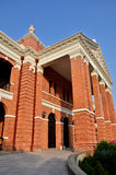 Villa del mattone rosso Fotografia Stock