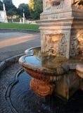 Villa della fontana borghese Fotografia Stock Libera da Diritti