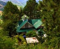 Villa della montagna Fotografie Stock Libere da Diritti