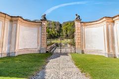 Villa Della Porta Bozzolo, located at Casalzuigno in the province of Varese. Stock Photography