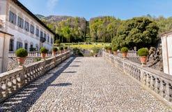 Villa Della Porta Bozzolo, located at Casalzuigno in the province of Varese. Royalty Free Stock Photos