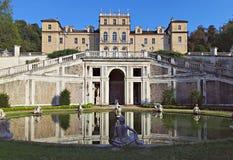 Villa della Regina. An elegant villa at the foot of the Turin Hill Royalty Free Stock Images