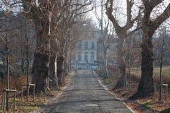 Villa della Regina entrance royalty free stock photography