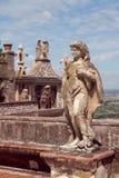 Villa d'Este, fragment. Tivoli, Italy. Royalty Free Stock Image
