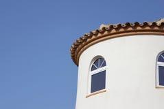 Villa detail Stock Photos