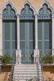 Villa detail in Bardolino Stock Photos