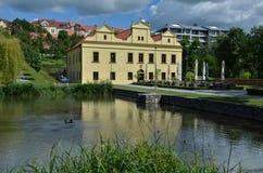 Villa di Kajetanka a Praga Fotografia Stock Libera da Diritti