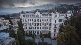 Villa di lusso Elena Building In Crimea archivi video