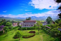 Villa di PuriPai Immagine Stock Libera da Diritti