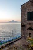 Villa di Sorrento Fotografie Stock