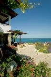 Villa di spiaggia immagini stock