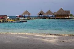 Villa di spiaggia fotografia stock libera da diritti