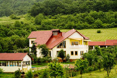 Villa di Transylvanian Fotografie Stock