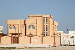 Villa in Doha, Qatar. Residential villa in Doha, Qatar, Middle East Royalty Free Stock Photos
