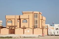 Villa in Doha, Qatar Royalty Free Stock Photos
