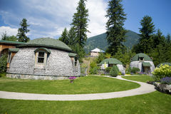 Villa Dome Quixote Royalty Free Stock Photography