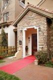 Villa doorway stock photos