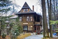 Villa Dora, pension Zameczek Royalty Free Stock Image