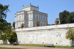 Villa Doria Pamphili. Is a 17th Century building influenced by Popes with beautiful hedged gardens. Photo taken April 2015 Stock Images