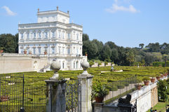 Villa Doria Pamphili. Is a 17th Century building influenced by Popes with beautiful hedged gardens. Photo taken April 2015 Royalty Free Stock Image