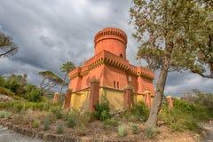 Villa Durazzo - Pallavicini, het kapiteins` s kasteel in Genoa Pegli, Italië Stock Afbeeldingen
