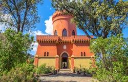Villa Durazzo- Pallavicini, het kapiteins` s kasteel in Genoa Pegli, Italië Royalty-vrije Stock Foto's