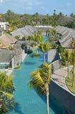 Villa e località di soggiorno Bali Fotografie Stock Libere da Diritti