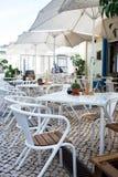 Villa Echt DE Santo Antonio, Portugal, November 2015: Openlucht aangaande Royalty-vrije Stock Foto