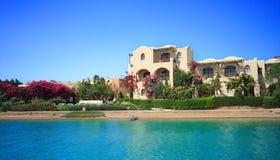 Villa. El Gouna. Egypt. Royalty Free Stock Image