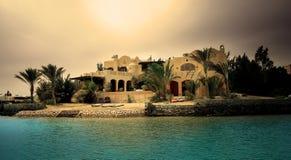 Villa. El Gouna. Egypt. Stock Images
