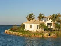 Villa. elguna. egypt. Stock Photos