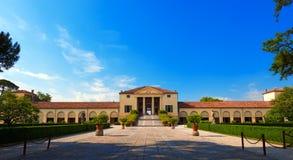 Villa Emo - Fanzolo Treviso Italien Royaltyfri Fotografi