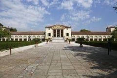 Villa Emo i Italien arkivbild