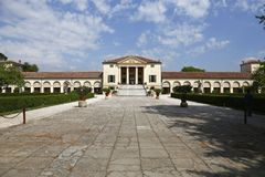 Villa Emo in Italy stock photography