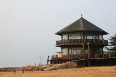 Villa en bois de Guanhai à Qingdao Photos stock