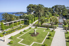 villa Ephrussi de Rothschild,圣徒吉恩盖帽Ferrat 库存图片
