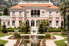 Villa Ephrussi de Rothschild Fotografia Stock