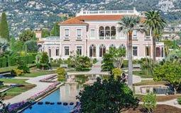 Villa Ephrussi de Rothschild royaltyfri bild