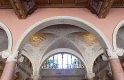 Villa Ephrussi de Rothschild, helgon capFerrar Jean, Frankrike Royaltyfri Fotografi