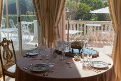 Villa Ephrussi de Rothschild, helgon capFerrar Jean, Frankrike Royaltyfria Foton