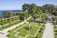 Villa Ephrussi de Rothschild, Helgon-Jean-lock-Ferrat Fotografering för Bildbyråer