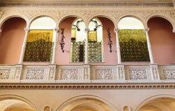 Villa Ephrussi de Rothschild inre Arkivfoto