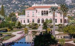 Villa Ephrussi de Rothschild royalty free stock photo