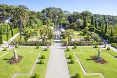 Villa Ephrussi de Rothschild, Saint-Jean-Cap-Ferrat. French Riviera Stock Photos
