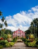 Villa Escudero, San Pablo, Philippines de musée Images stock