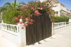 Villa espagnole Photo stock