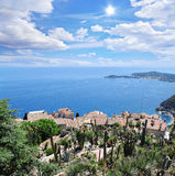 Villa in Eze village. Stock Image
